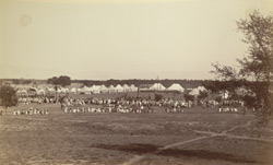 Camp at Rupar [opening of the Sirhind Canal]